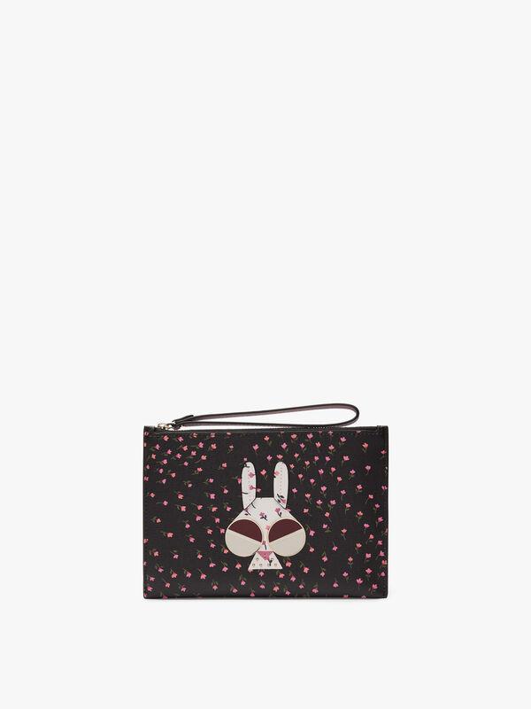 Spademals Money Bunny Small Wristlet