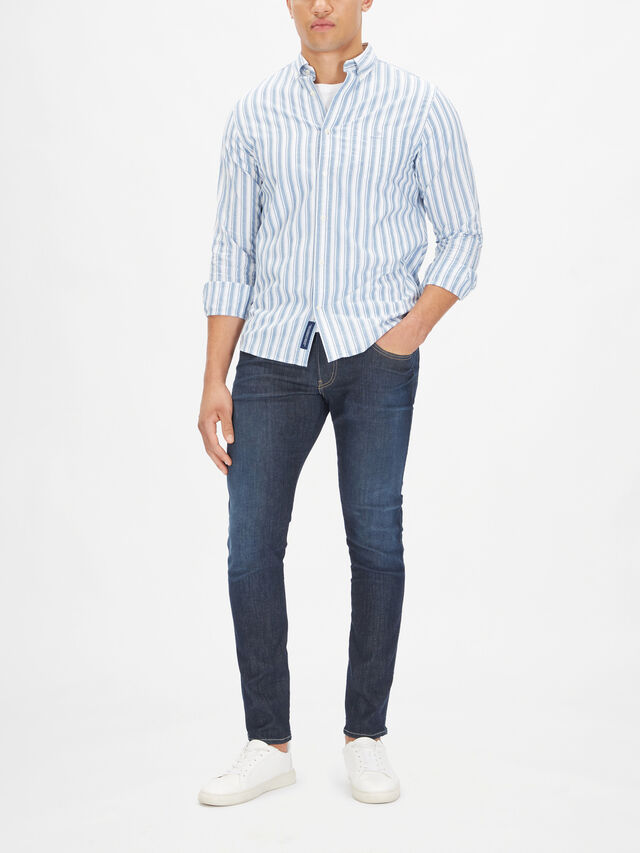 Coloration Project Striped Shirt
