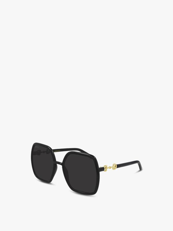 Horsebit Tubular Sunglasses