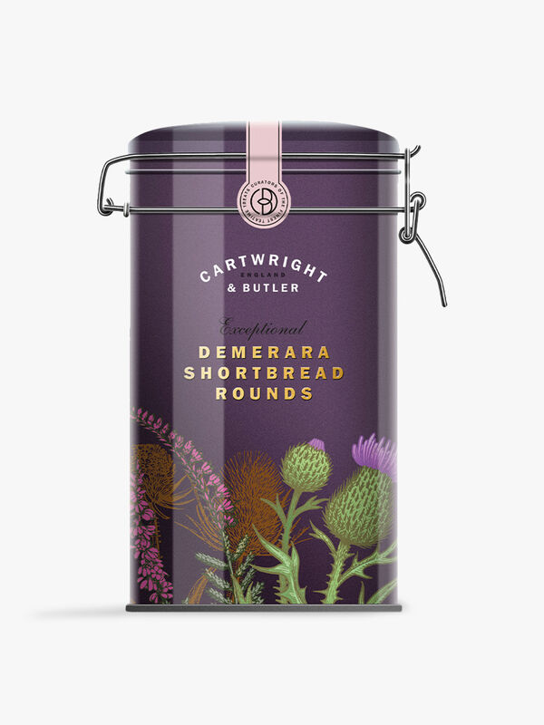 Demerara Round Shortbread