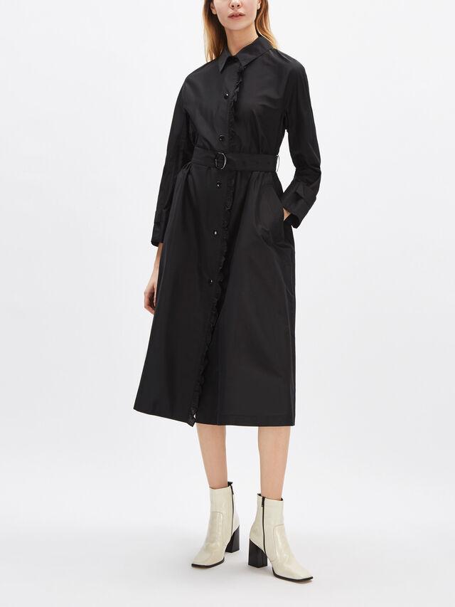Airy Taffeta Coat