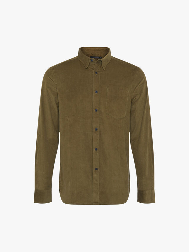 Micro Cord Long Sleeve Shirt