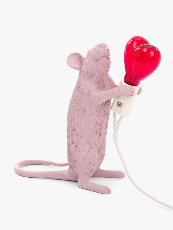 Mouse Heart Standing Lamp
