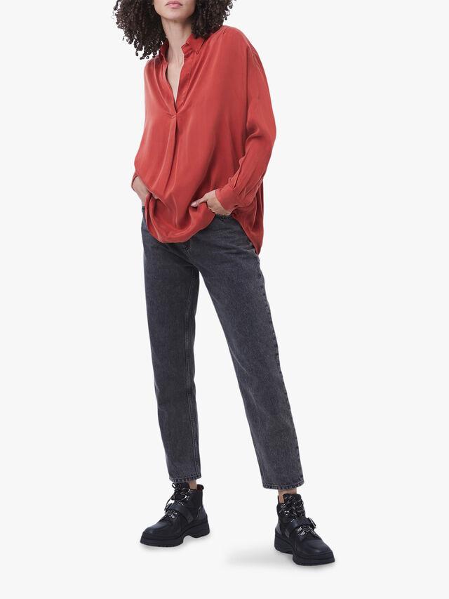 Rosana Cupro Popover Shirt