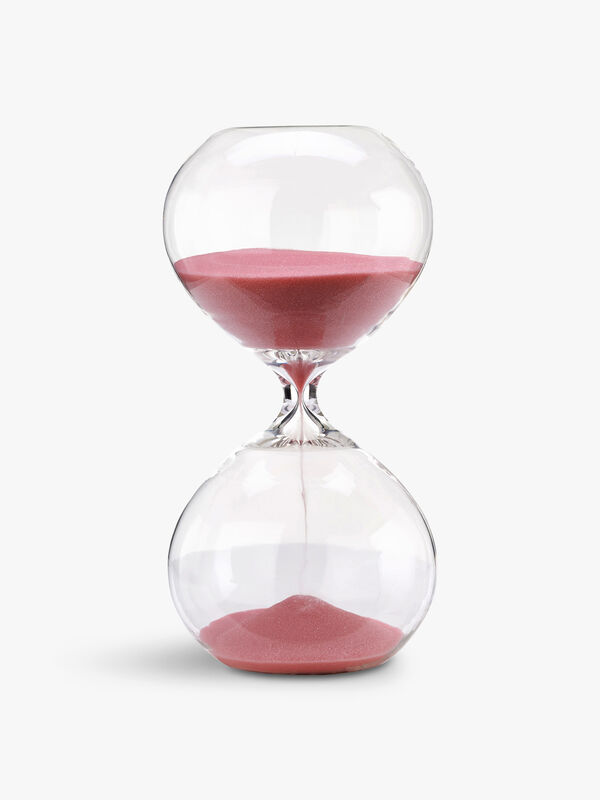 Small Pink Sandglass Ball