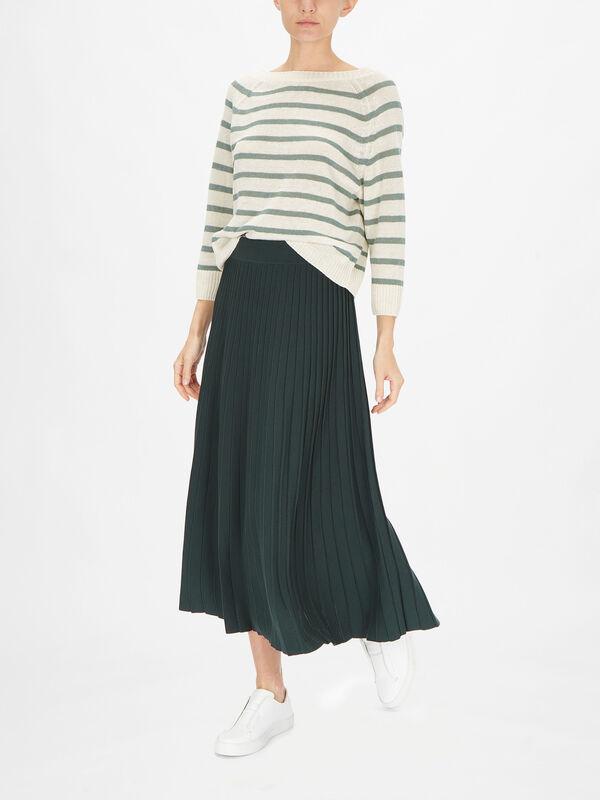 Ove Plisse Skirt