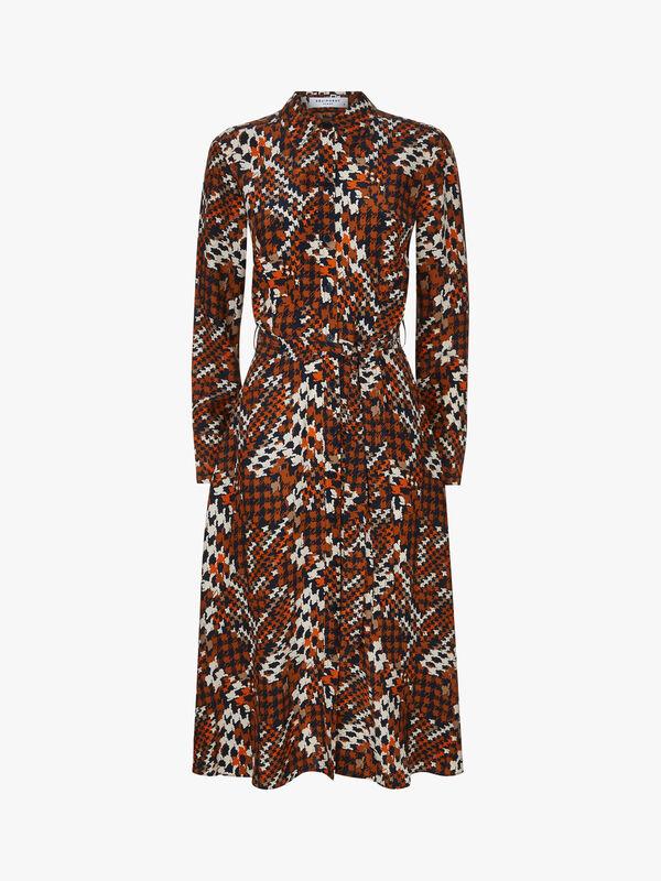 Relle Printed Midi Dress