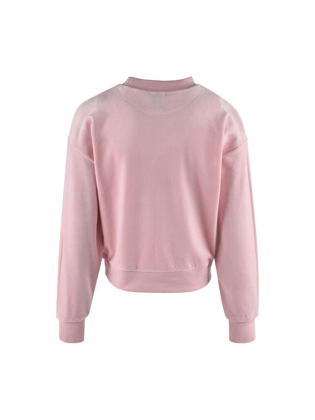 Juicy Velour Crew Sweatshirt