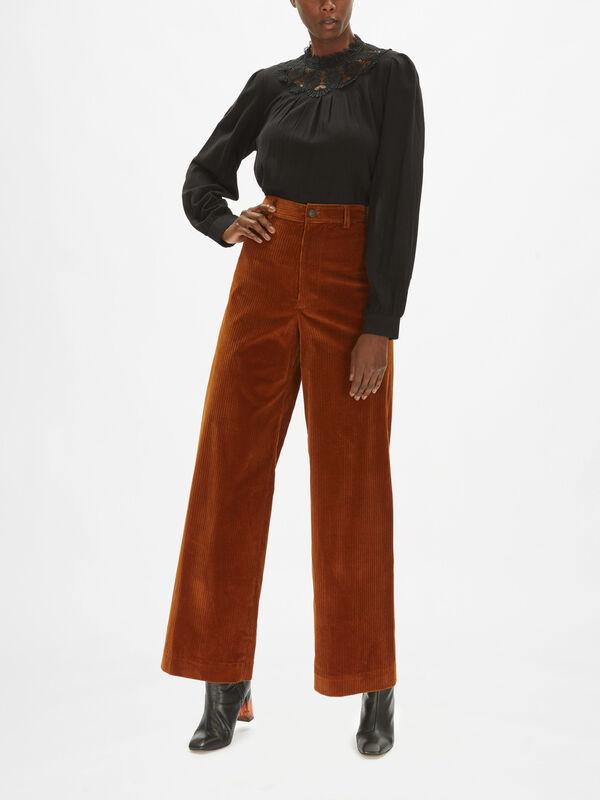 Polo Corduroy Trousers
