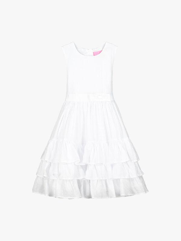 Arabella Cotton Dobby Dress
