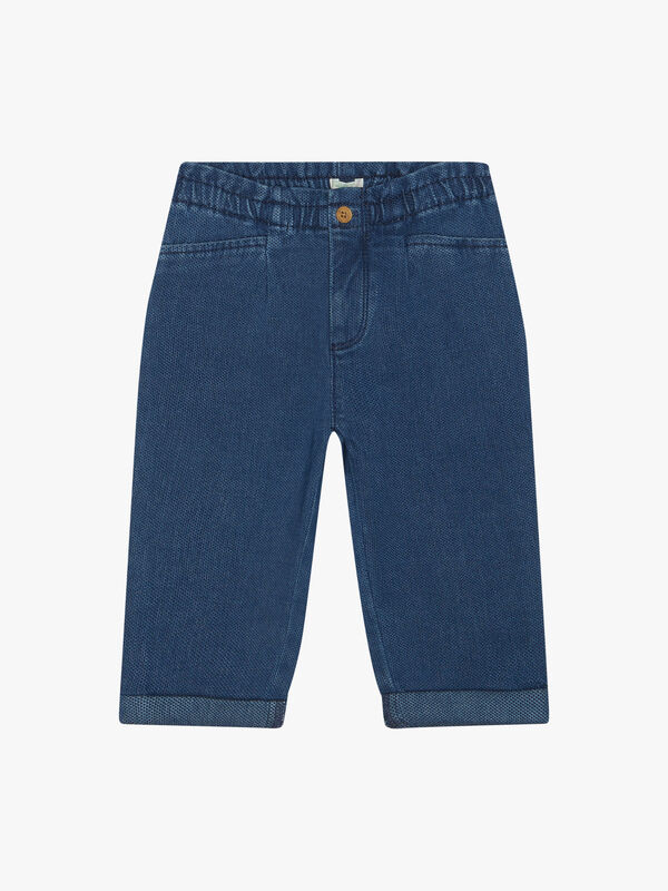 Soft Jean Trousers