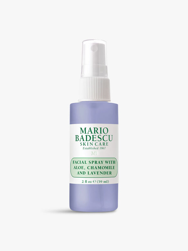 Facial Spray with Aloe Chamomile and Lavender 59ml
