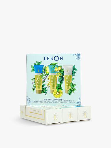 Box 1: Piscine à Antibes, Rhythm is Love & Le White Toothpaste 3 x 25 ml