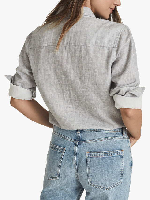 MIMI Cotton Twin Pocket Shirt