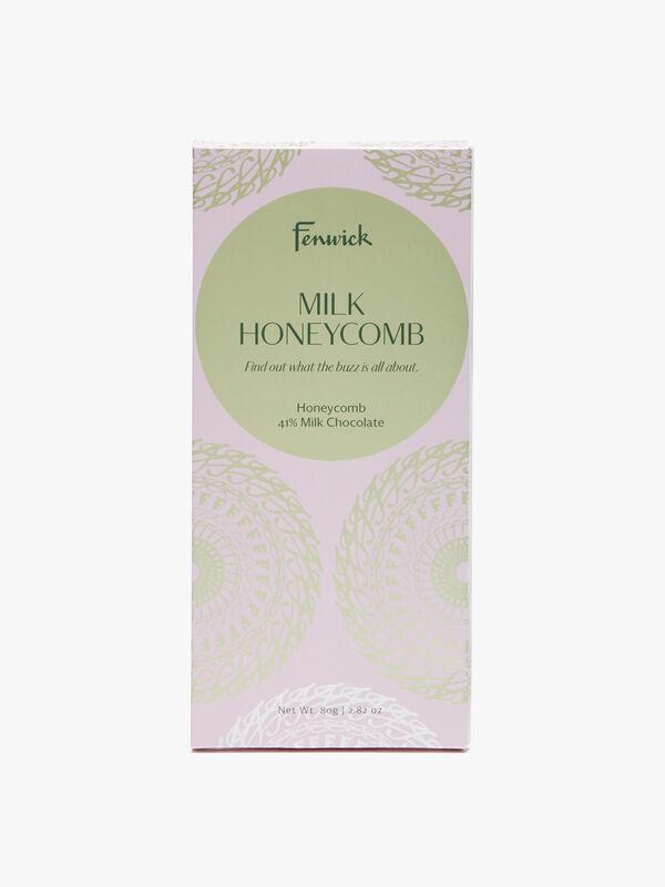 Honeycomb Colombian Milk Chocolate 80g