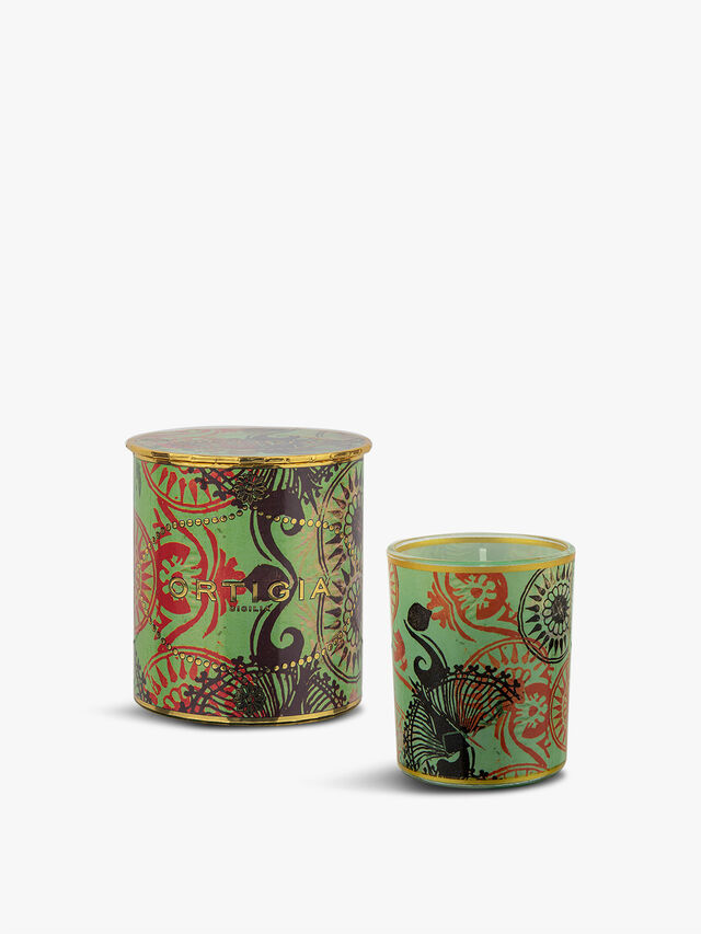 Fico D'India Decorated Candle