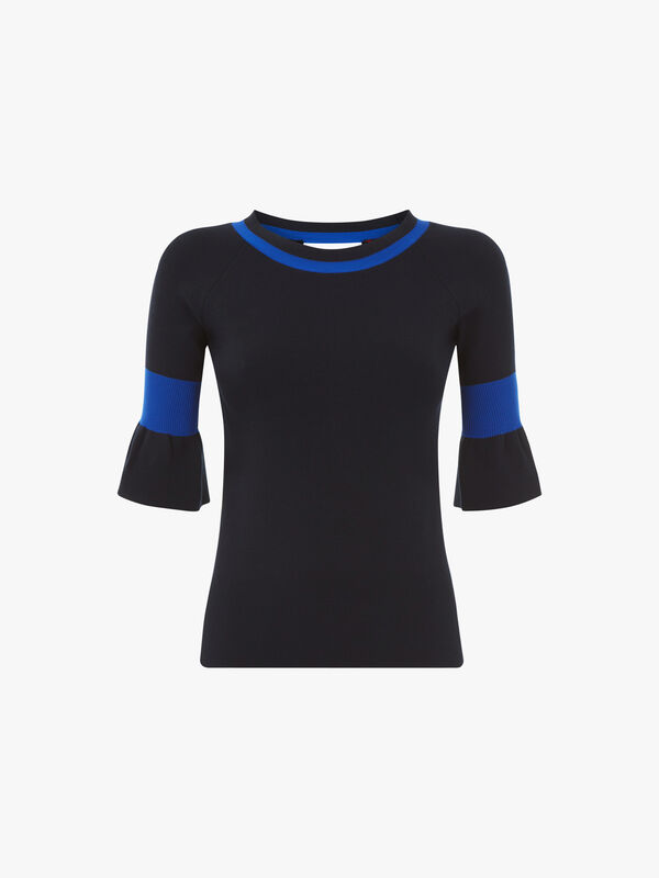 Complice Frill Sleeve Sweater