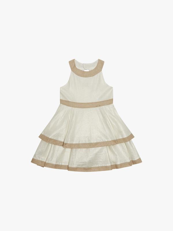 Layered Back Detail Dress