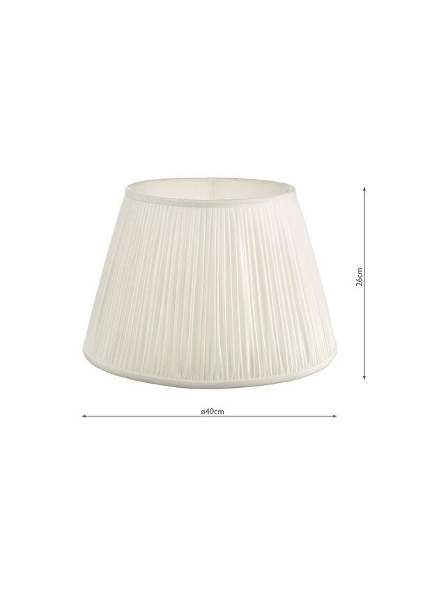 Ulyana Pleated Shade 40cm