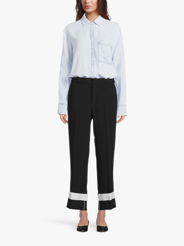 Trouser with Removable Cuff