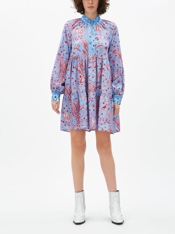 Jasmine Jungle Short Dress