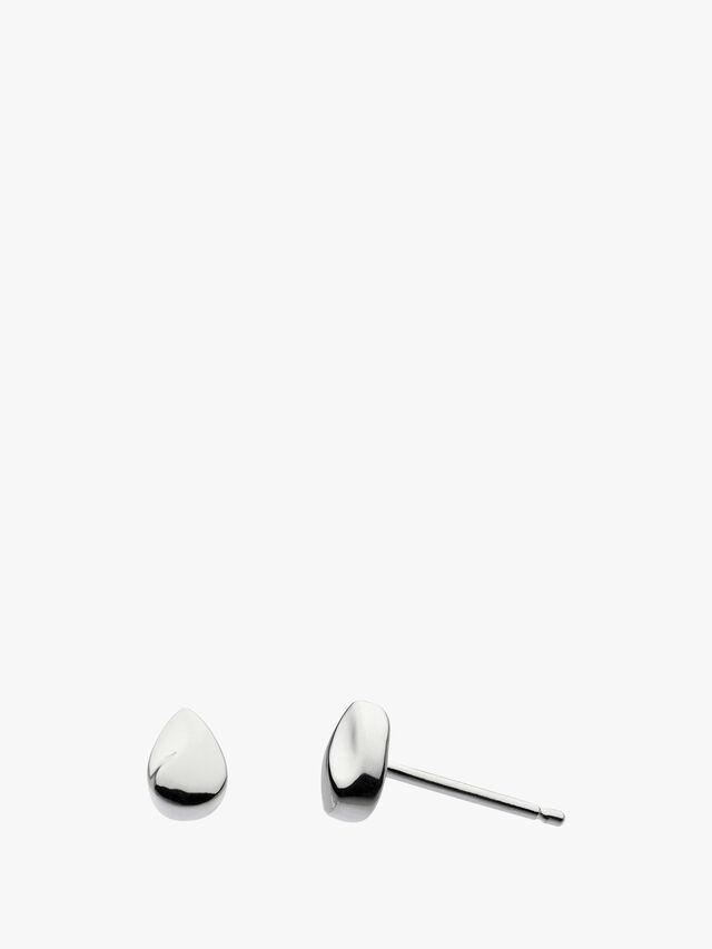 Miniature Raindrop Stud Earrings