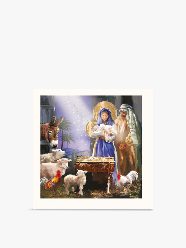 Mary And Joseph Boxed Cards