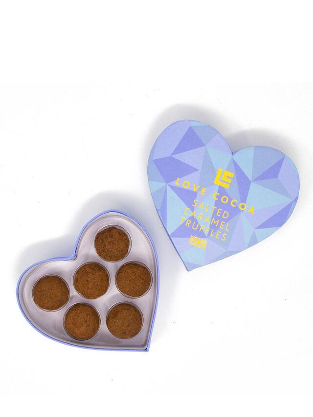 Salted Caramel Heart Truffle Box