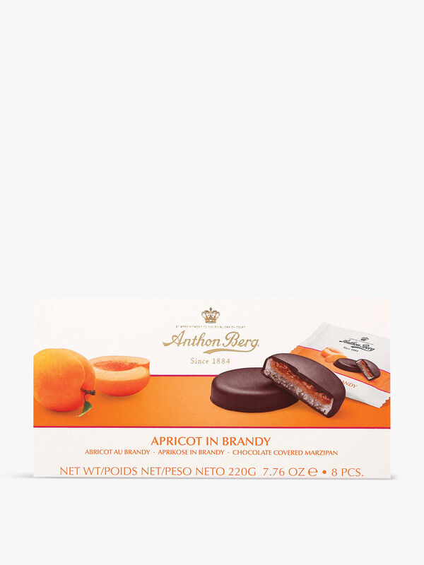 Apricot and Brandy Marzipan 220g