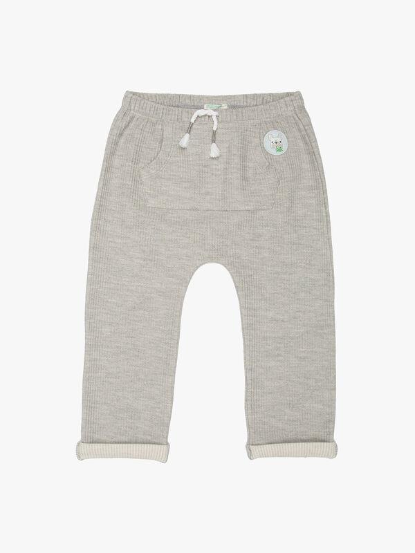 Soft Stripe Trousers