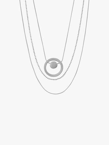 Vanity Circle Dot Necklace