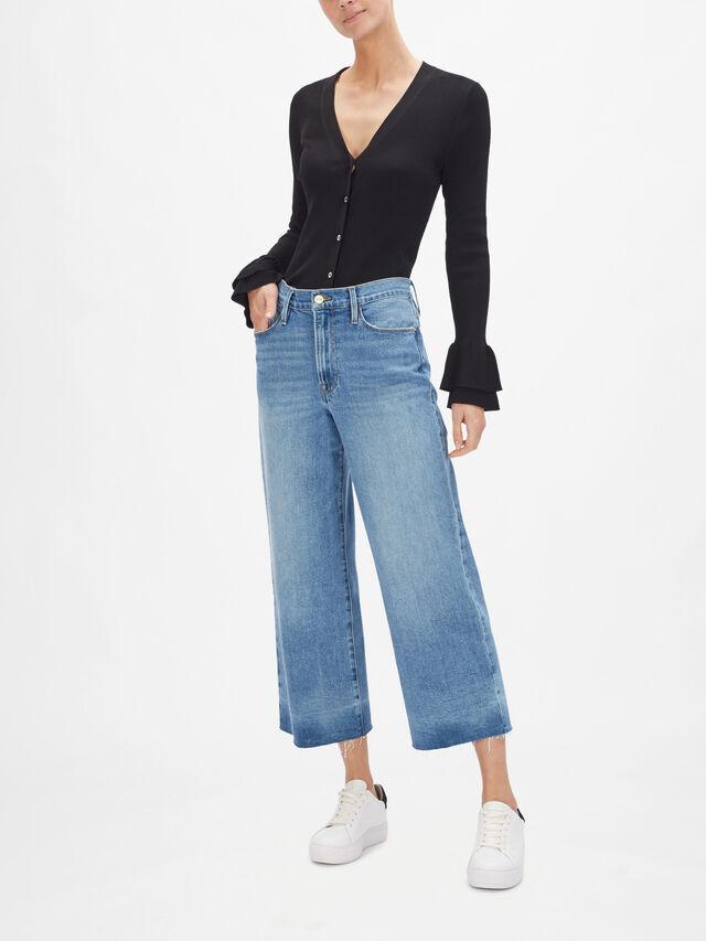 Ali High Rise Wide Leg Crop Jeans
