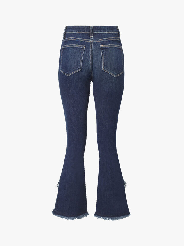 Colette Cropped Frayed Jeans