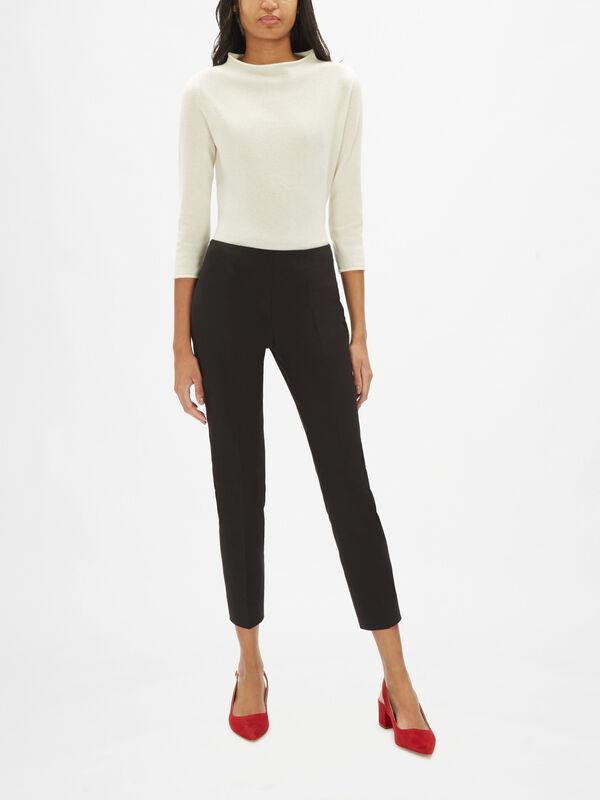 Emanuella Stretch Cotton Trouser