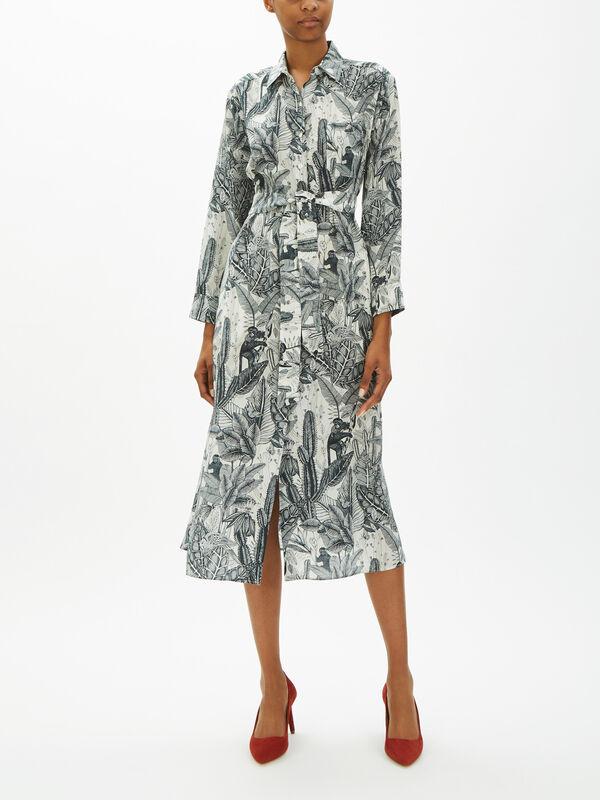 Ossola Printed Shirt Dress