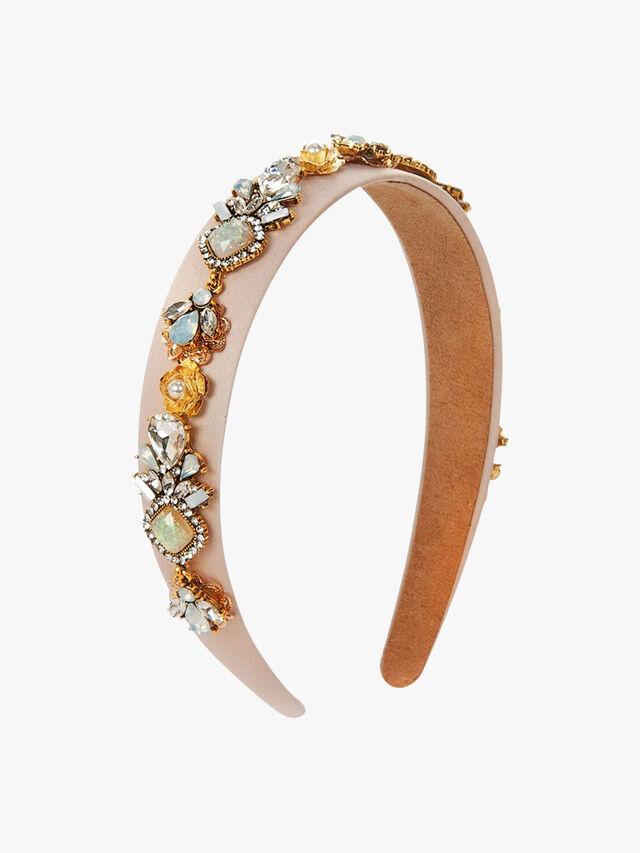 Embellished Detail Thin Crown Headband