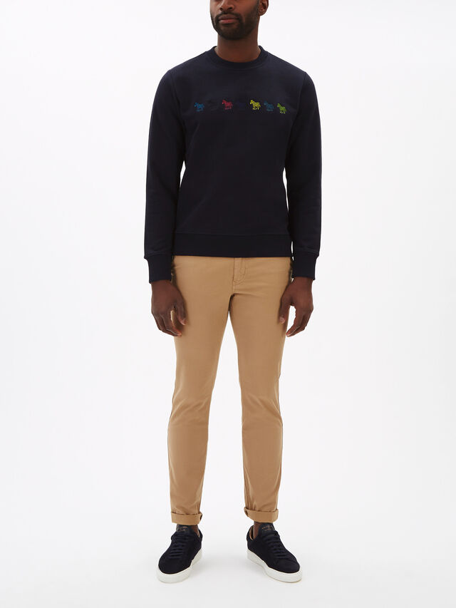 Zebra Multi Motif Sweatshirt