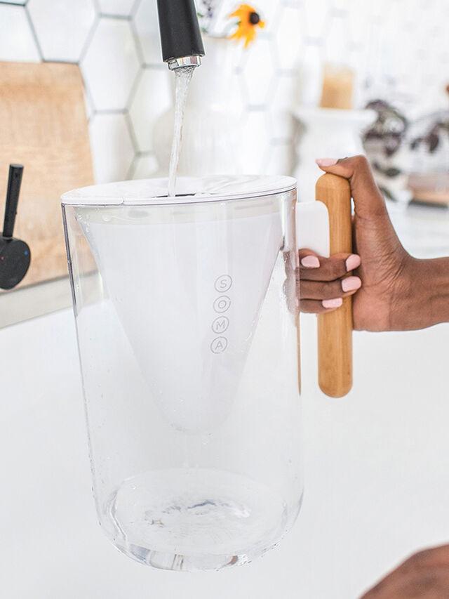 Filter Carafe Glass 1.35l