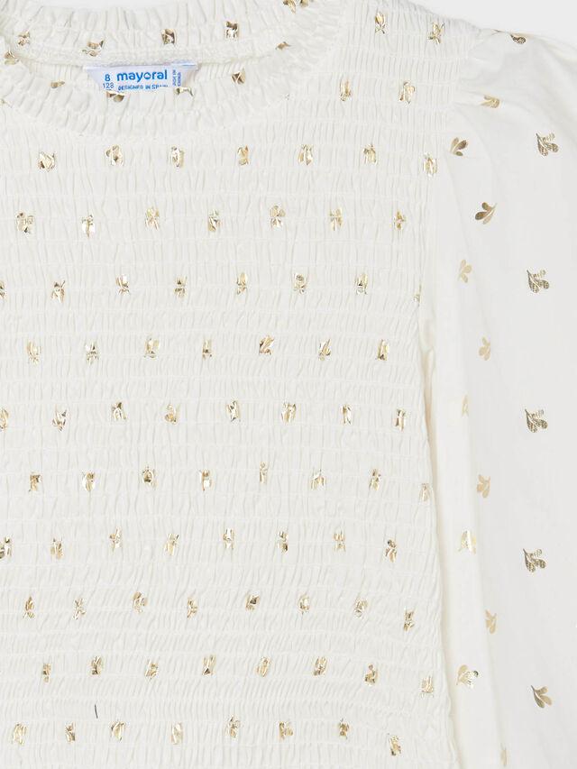 Honeycomb blouse