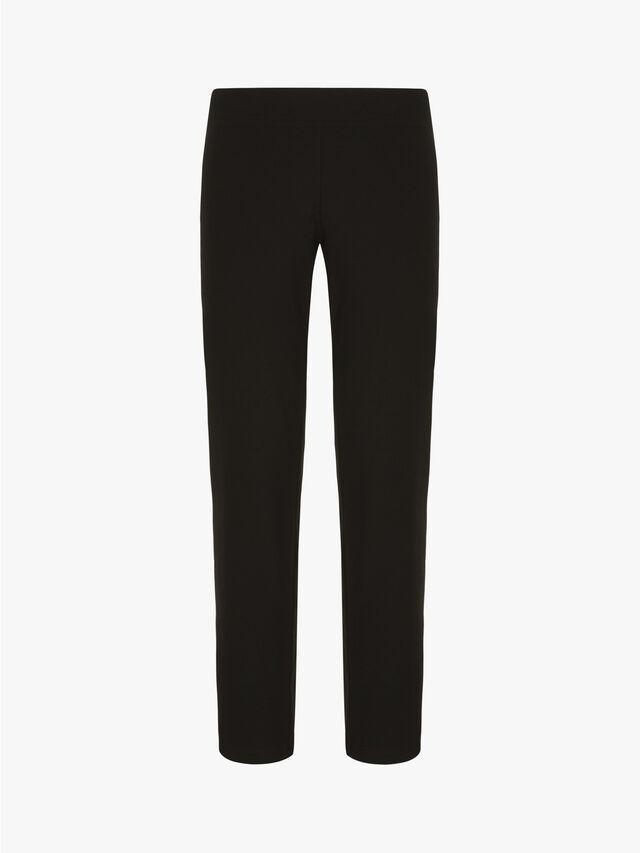 Washable Stretch Crepe Slim Ankle Pants