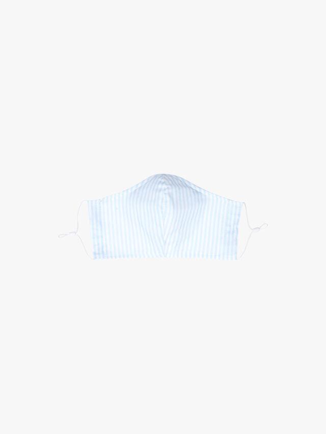 Blue Stripe Mask