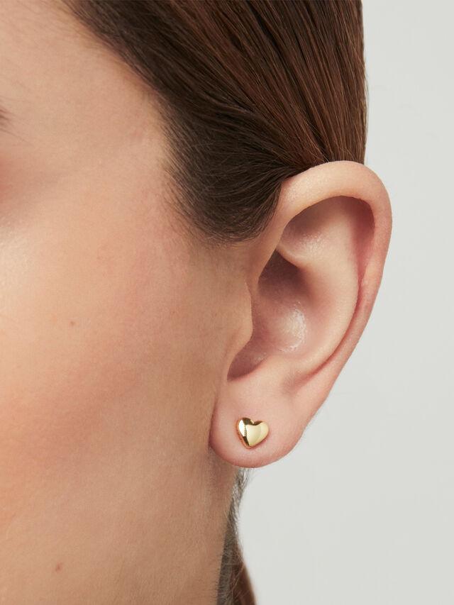 Harly Tiny Heart Stud Earrings