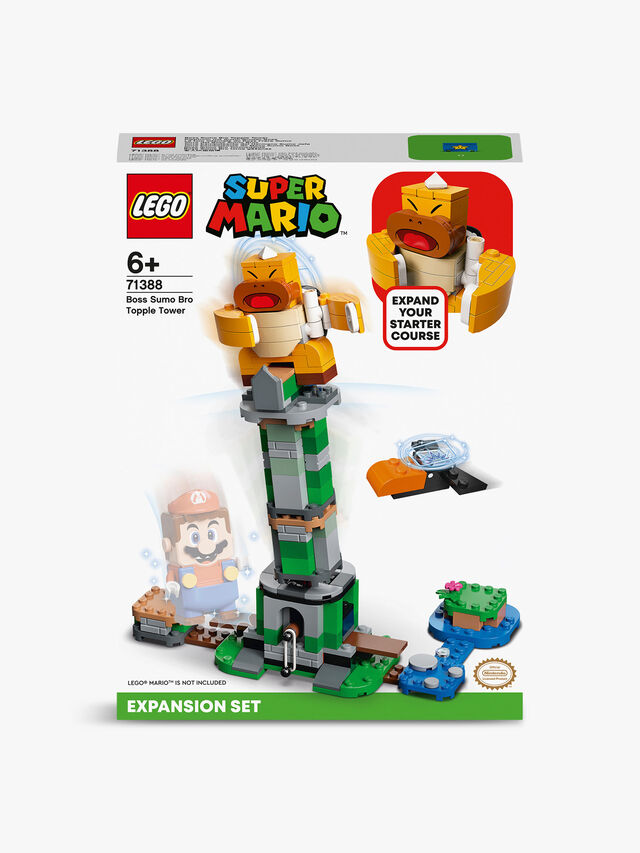 Super Mario Boss Sumo Bro Topple Tower Expansion Set