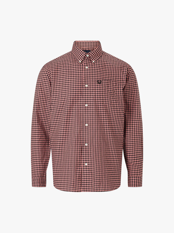Two-Colour Gingham Shirt