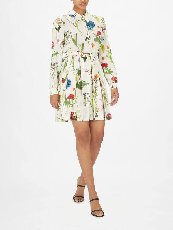 Long Sleeve Mini Shirt Dress