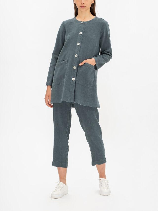 Textured Linen Jacket
