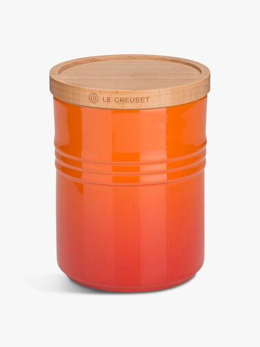 Medium-Storage-Jar-with-Wood-Volcanic-Le-Creuset