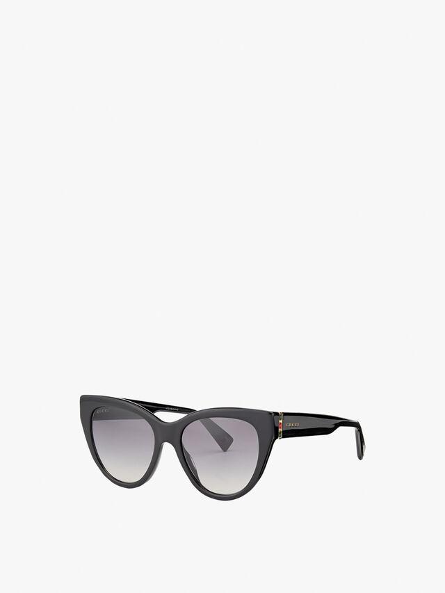 Stripe Hinge Sunglasses