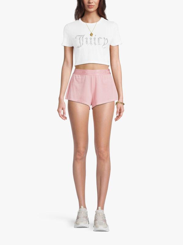 JC Ribbed Shorts