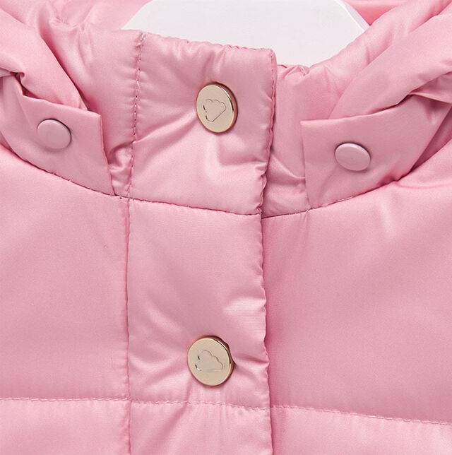 A-Line Hooded Puffa Coat